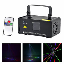 Mini 400mw RGB DMX 8CH Laser Lights DJ Party Bar Show Projector Stage Lighting