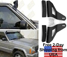 "GS Power's Jeep 52"" Curved LED Light Bar Brackets for 1984 - 2001 Cherokee XJ"