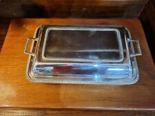 More details for good vintage epns 'embassy' gladwin ltd sheffield entree serving dish
