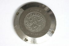 Rado water sealed mens screw case back for parts/restore - 134290