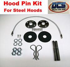 """1970 1974 Dodge Challenger Stainless Steel Hood Pin Kit 18"""" NEW MoPar"""