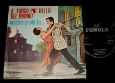 FRANCO TRINCALE MONICA CARTOON  P/S 45 IL TANGO PIÙ BELLO DEL MONDO
