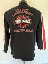 New listing 2001 Harley Davidson Motorcycles Tripp's Texas Long Sleeve T Shirt Size L Black