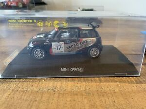 Scalextric Digital Mini Cooper S 'BROAD OAK', VGC C2565 Rare Car, Boxed, Lights