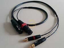 5Ft Stereo Dual RCA Male To XLR Female Audio Interconnect Cable HIFI