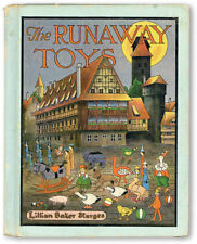 Sturges-THE RUNAWAY TOYS-[1920]-Illustrated-Children's/Bedtime Story-VG