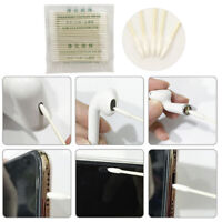 For earphone Case Earphone Charge Port 25x Cotton Disposable Stick Clean ToolLD