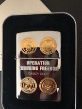 Zippo  Feuerzeug Operation Enduring Freedom 4552/10000