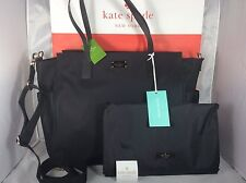 NWT Mother's Day Kate Spade Black Blake Avenue Kaylie BABY Bag Diaper Tote Mom