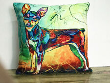 1x Simple puppy painting Home Decor sofa Cushion Covers Pillow Case 18X18''
