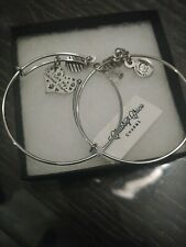 """Chubby Chico Charms """"I love my doberman pinscher, color silver w/gift box"""
