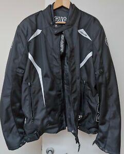 Bering Keers Textile Motorcycle Armoured Jacket, Waterproof removable Lining