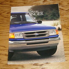 Original 1995 Ford Truck Ranger Sales Brochure 95