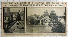 1915 Princess Club Hospital Jamaica Road Bermondsey Wounded Soldiers Roof Garden
