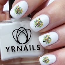 Nail WRAPS Nail Art Water Transfers Decals - Life in Trees - S635