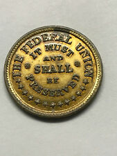 Civil War Token Army/Navy The Federal Union #15255