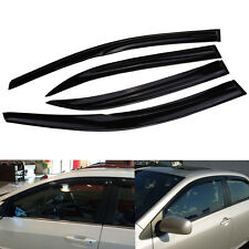 Front Rear Window Visor Guard Vent For Toyota Corolla 2009-2013 2010 2011 2012