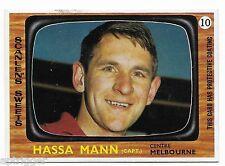1967 Scanlens (10) Hassa MANN Melbourne  { Near Mint }