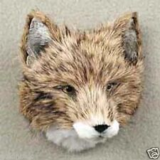 *COYOTE HEAD-Fur ANIMAL Magnets! (Handcrafted & Hand painted..Collectable!