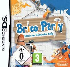 DS Spiel Brico Party: Werde der Heimwerker - König! #B