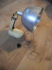 alte Schreibtischlampe, Rotlichtlampe,Handlampe, Bürolampe,LOFT, Bauhaus