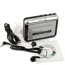 Tape Cassette to MP3 PC CD iPod USB Converter Capture Digital Audio Player W CD