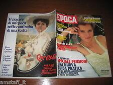 RIVISTA EPOCA 1981 N.1616=HANNA SCHYGULLA=GARCIA MARQUEZ=EUGENIO MONTALE=
