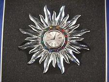 Swarovski Solaris Table Clock NIB/COA