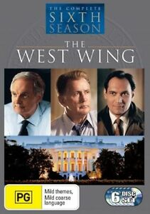 The West Wing : Season 6 (DVD, 2007, 6-Disc Set)*R4*Terrific Condition