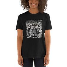 Short-Sleeve Unisex T-Shirt White Tiger AA1 CLOTHING