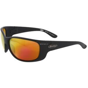 Berkley BSSALUMBCRM-H Saluda Sunglasses,- Matte Black Frame/ Copper Lens/ Red Mi