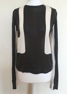 Balenciaga Geometric Knit Shirt Top size 12