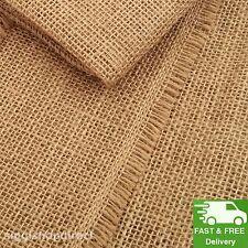 100% Natural Raw Hessian Jute Burlap Fabric Superior Quality Material 100cm wide