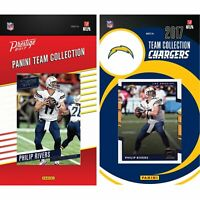NFL Los Angeles Chargers Licensed 2017 Prestige and Donruss Team Set