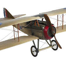"""WWI Spad S XIII Biplane Airplane Built Wooden Model 24"""" New"""
