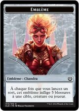 MTG Magic KLD - Token/Jeton - Emblem/Emblème : Chandra, #010E, French/VF
