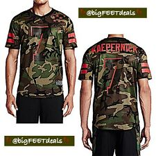 Nike Limited Edition Colin Kaepernick #7 2XL AUTHENTIC Military Camo Jersey