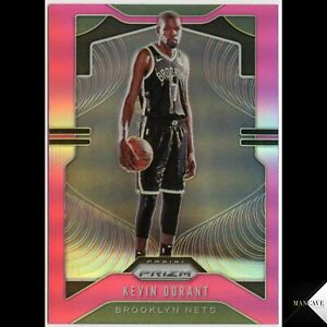 2019-20 Panini Chronicles Prizm Update Pink Kevin Durant #508 Brooklyn Nets