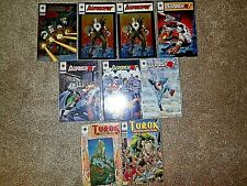 1993-1994 Valiant Comics' Bloodshot 0,1,1,2-4,6,Turok 1,2, All Vf+ or better
