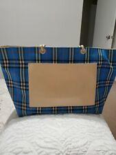 Large Burberry Handbag Authentic