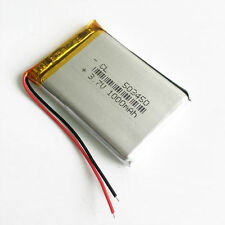 1000mAh Li Polymer lipo cells 3.7V Battery 503450 For MP3 GPS Recorder Camera