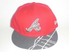 New Era 59Fifty Atlanta Braves GPSV Red Hat 7 1/4 ($36) NEW 5950 Cap MLB Rare A