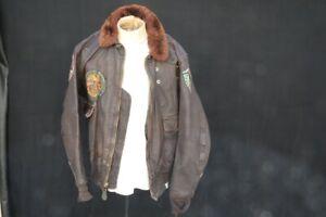 Vietnam War US Navy Type G-1 Irvin Foster Sportswear Size 46 Man's Flying Jacket