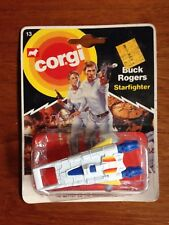 Buck Rogers Starfighter Erin Gray Gil Gerard 1980 Corgi metal spaceship
