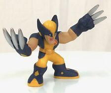 Marvel Super Hero Squad WOLVERINE Blue Yellow Astonishing X-Men Costume   #016