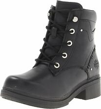 Harley-Davidson Women's Elowen Work Boot, Black, 5 M US