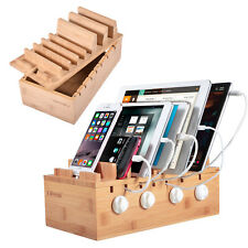 Charging Stations Multiple Devices Desk Docking Station Organizer 7 Cell Phone