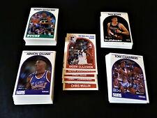 (137) 1989 Hoops Autographed Partial Set Nba Basketball Set Lot Hof Signed Auto