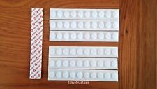 Velcro 30 Hook And 30 Loop Stick On Dots/Coins/Discs White 13mm Self Adhesive
