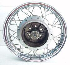 """New Suzuki Rear Wheel 18/"""" Rim 75-77 GT500 GT550 GT750 Lemans Kettle Indy OEM#H83"""